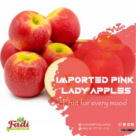 Imported Pink Lady apples